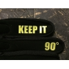 "Gants JR Drift Trikes Jaune / Noir ""Keep It 90°"""