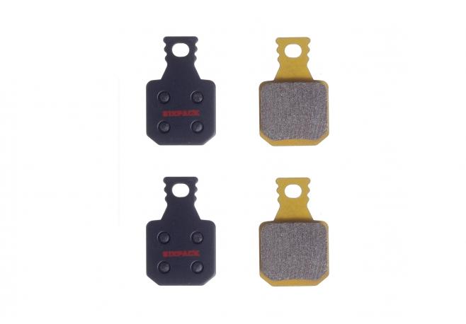 Plaquettes (métal fritté) Magura MT7 (4-piston)