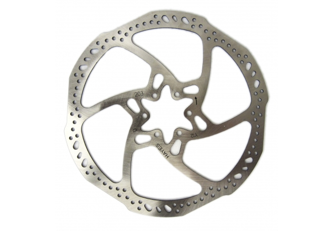 Disque de freins VTT HAYES série L Light Weight + vis 160 mm - Hayes