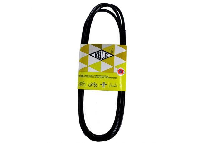 Gaine de frein noire spirale Téflon 2000mm
